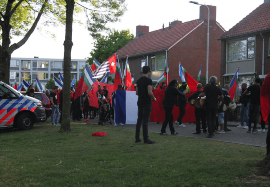 Molukse gemeenschap Doesburg loopt Solidariteitsmars