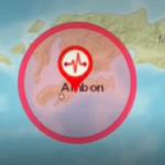 Ambon di Guncang Gempa! Pusat Gempa 17KM Timur Kota Ambon